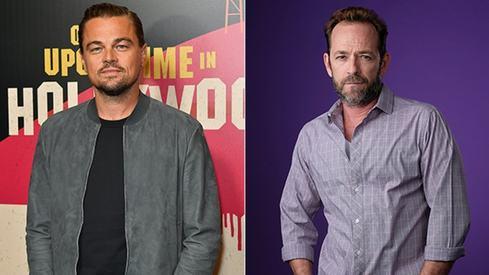 Leonardo DiCaprio recalls how starstruck he was when he met Luke Perry