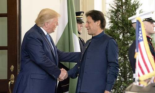 A pictorial diary of Prime Minister Imran Khan's inaugural visit to the United States