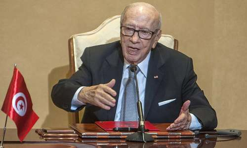Tunisian president, 1st democratic leader, dies at 92