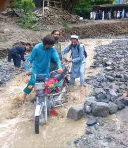 Torrential rain kills one in Buner