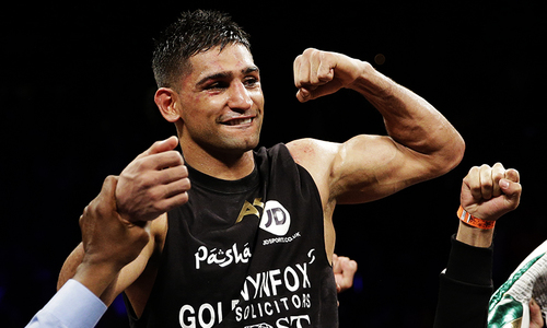 Boxer Amir Khan admits he is thinking of retirement