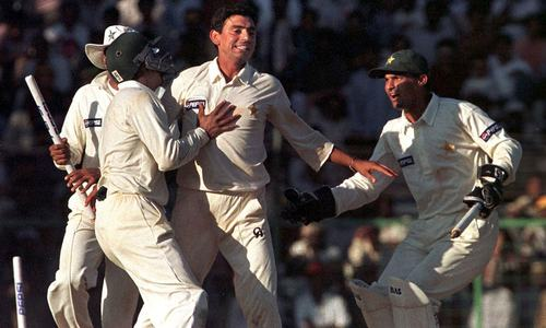 Fans vote 1999 Chennai clash with India as Pakistan's 'greatest Test match'