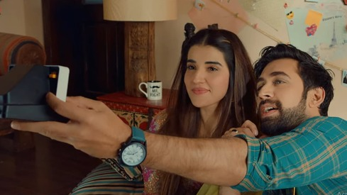 Hareem Farooq and Ali Rehman Khan fall in love in Heer Maan Ja's newly released song