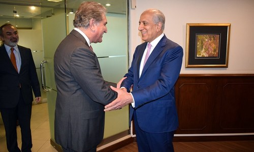 Pakistan will continue to play role for success of Afghan peace efforts, Qureshi tells Khalilzad