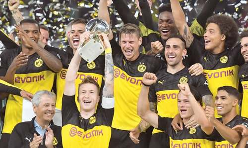 Sancho stars as Dortmund down Bayern to win German Super Cup