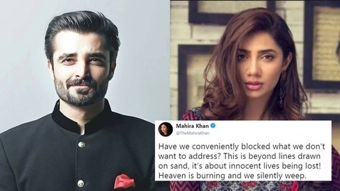 Pakistani celebrities speak up against human rights violations in Kashmir