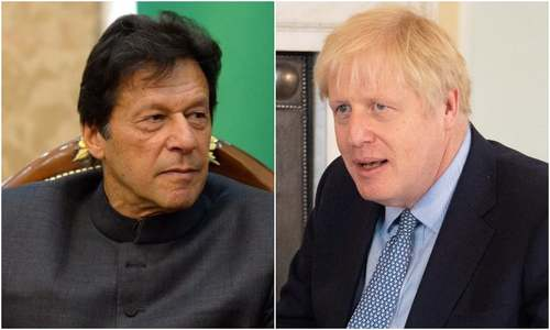 PM Imran, UK counterpart Boris Johnson discuss 'serious situation in Kashmir'