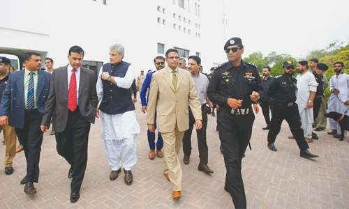 SL cricket board briefed about security in Karachi for upcoming series