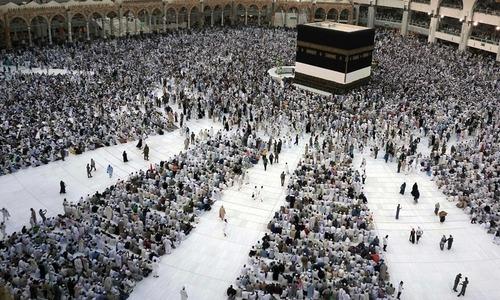 2.5m pilgrims await beginning of Haj