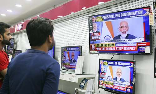 Special status for occupied Kashmir 'fed terrorism', Modi says in TV address