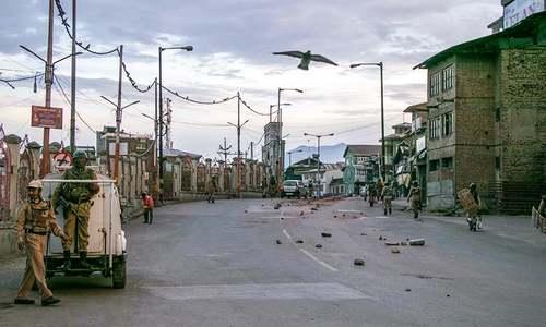 Kashmir under curfew: Pre-dawn food run then rush home