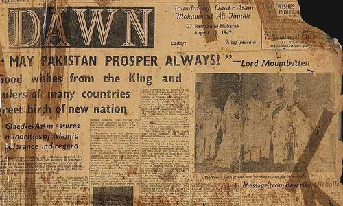 A look back at 14 August through newspaper pages