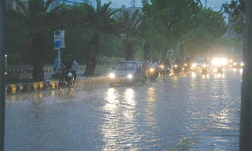 Four killed as lower Sindh gets more rainfall