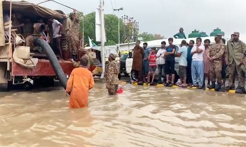 Death toll in Karachi rises to 11 as heavy monsoon rains cause 'critical situation'