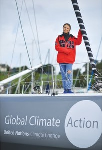Climate campaigner Greta prepares to sail for US by boat