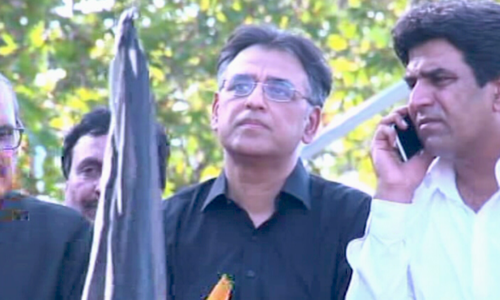 World should act if it wants to prevent a third great war, says Asad Umar at Black Day rally
