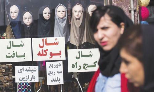 ایران: حجاب مخالف احتجاج پر سزا کاٹنے والی خواتین کی رہائی کا مطالبہ