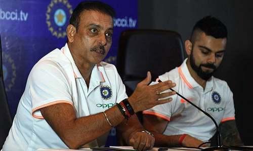 روی شاستری بھارتی ٹیم کے ہیڈ کوچ کا عہدہ برقرار رکھنے میں کامیاب