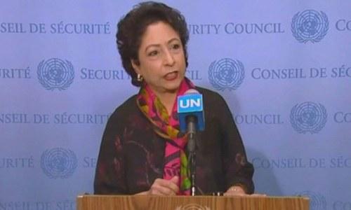 اقوام متحدہ میں 50 برس بعد کشمیریوں کی آواز سنی گئی، ملیحہ لودھی