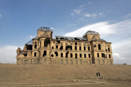 Afghanistan's Darulaman Palace emerges from ruins as centenary nears