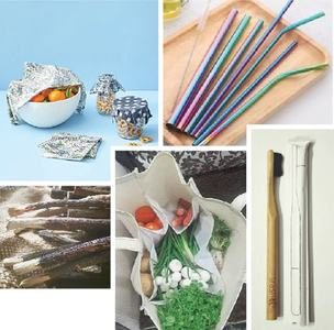 ENVIRONMENT: LIVING WITH LESS PLASTIC