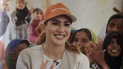 Mehwish Hayat is running a marathon to help rebuild 5 schools in Sukkur
