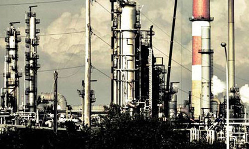 Production from two major gas fields stopped