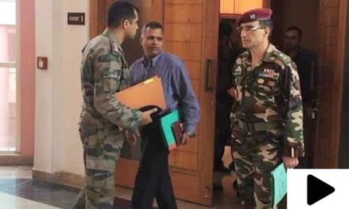 بھارتی فوج کے کرنل کو سچ بولنا مہنگا پڑگیا