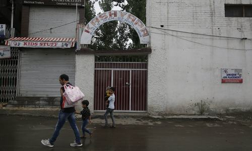 Schools deserted in occupied Kashmir as parents fear more unrest