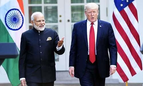 ٹرمپ نے مودی کو پاک-بھارت کشیدگی کم کرنے پر زور دیا، وائٹ ہاؤس