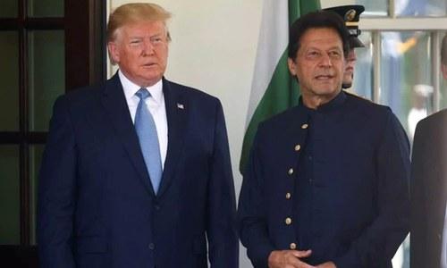 عمران خان اور ڈونلڈ ٹرمپ میں پھر رابطہ، مقبوضہ کشمیر کی صورتحال پر گفتگو