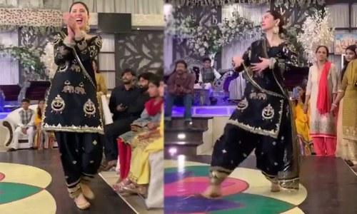 ماہرہ خان کے دوست کی مہندی پر کیے رقص کی ویڈیو وائرل