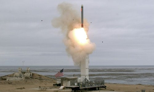 Russia, China say US missile test risks sparking an arms race
