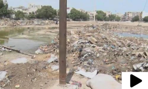کراچی میں بارش کا پانی اور آلائشیں بیماریاں پھیلانے کی وجہ قرار