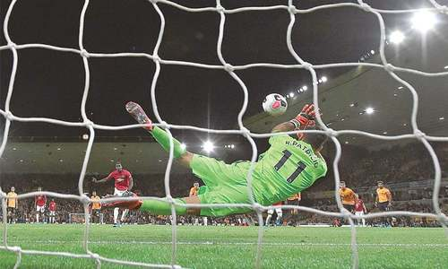 United held at Wolves after Pogba's penalty woe