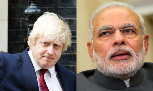Modi complains to Boris over occupied Kashmir protests outside India's London HC