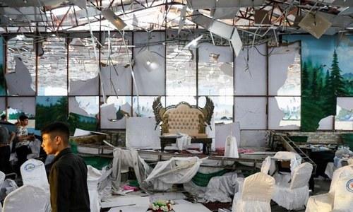 کابل: شادی کی تقریب میں ہونے والے دھماکے میں ہلاکتیں 80 ہوگئیں