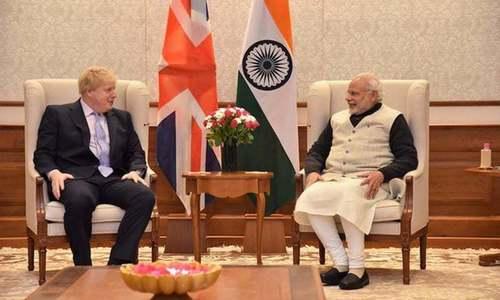 بھارتی ہائی کمیشن کے باہر احتجاج پر مودی کی برطانوی وزیراعظم سے شکایت