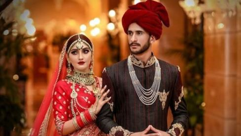 Just lots of pictures from Hasan Ali's wedding reception