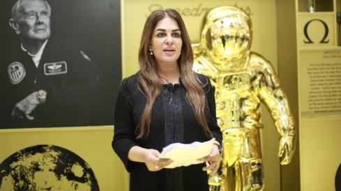 Namira Salim believes space diplomacy could create peace on Earth