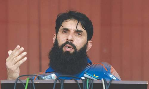 Misbah backs PCB's chief selector-cum-head coach model