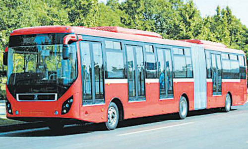 Commuters to pay Rs30 fare for Islamabad metro bus from Friday