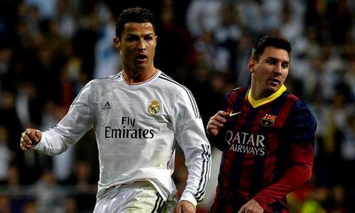 Messi 'made me better player', says Ronaldo