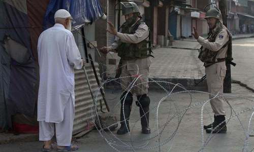 Security in occupied Kashmir intensified following call for march to UN office