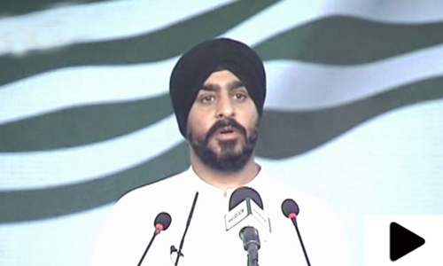 'دنیا بھر کی سکھ برادری کشمیری بھائیوں کے ساتھ ہے'