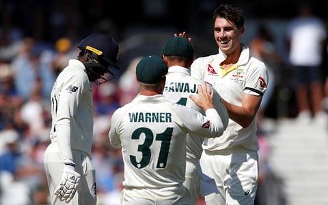 آسٹریلیا کی تباہ کن باؤلنگ، انگلینڈ 67رنز پر ڈھیر