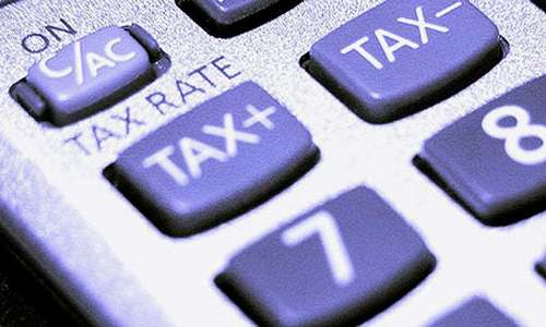 Tax return forms issued