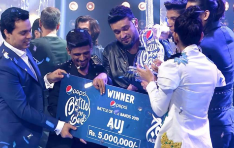 Pepsi Battle of the Bands: Auj doesn't make the song twice