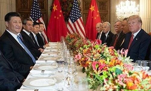 بدمعاش واشنگٹن کو اپنے حصے کا تُرش پھل کھانا پڑے گا، چین