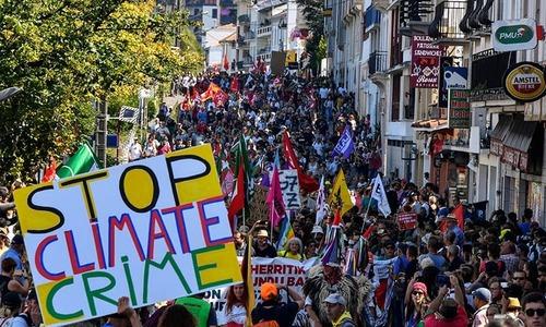فرانس میں جی-7 رہنما کانفرنس، ہزاروں مخالفین کا مارچ
